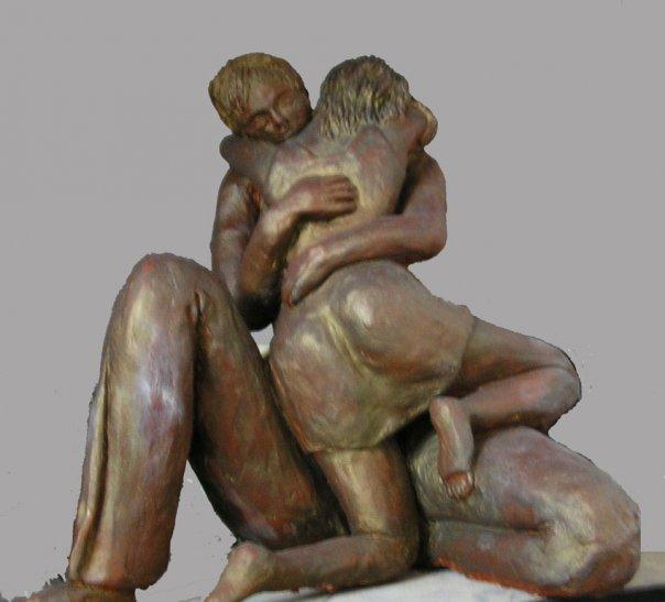 זוג - נעמי ברקוביץ - פסלת