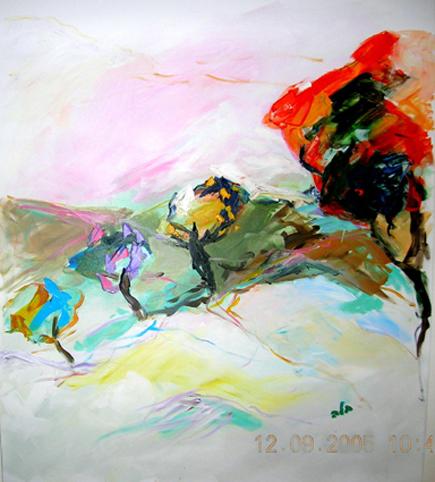 בלה רוזנבאום - ציירת