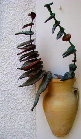 יהודה ענף - פסל
