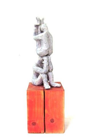 דניאל אבקסיס - פסל