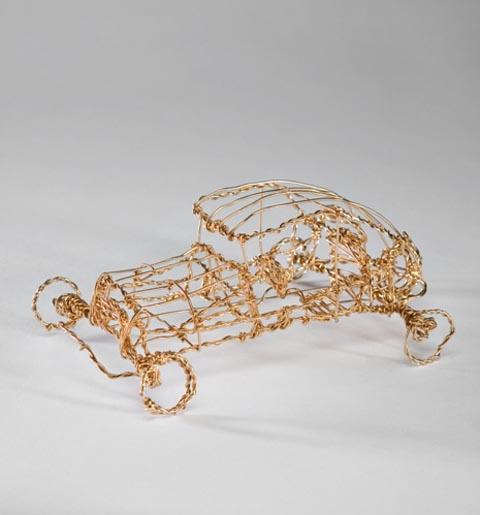 מכונית - אריק אפק - פסל