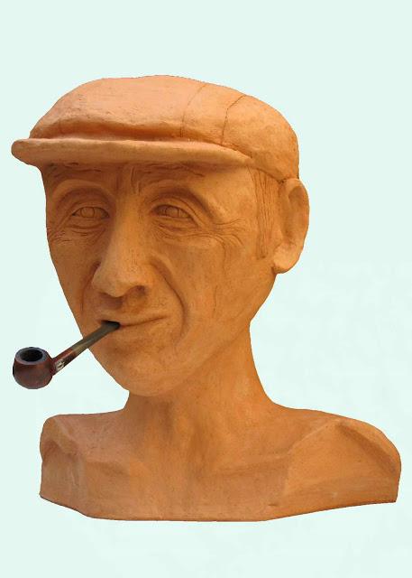 איש זקן - דוד גומא - פסל