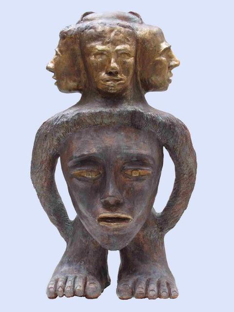 המימד החמישי  - דוד גומא - פסל