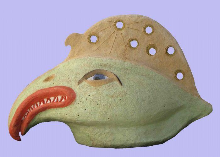 דגציפור - דוד גומא - פסל