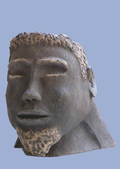 אותלו - דוד גומא - פסל