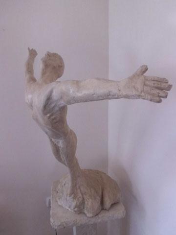 איכרוס - איגור פולסקי - פסל