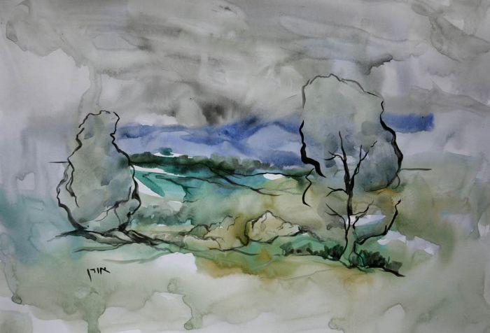 אורן יבנין - צייר