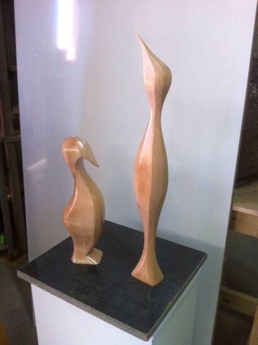 אמל סרחאן - פסל