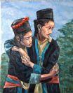 ילדות ויאטנמיות - אבי דוקטורצ'יק - צייר