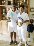 צביקה ובברלי אלופי המועדון 2011 Zvika and Beverley, club champions 2011