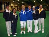 Zvika, Ruthi and the Singapore delegation WC2010  צביקה, רותי ומשלחת סינגפור, גביע העולם 2010