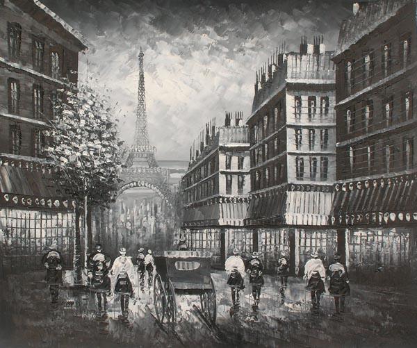 פריז בשחור לבן