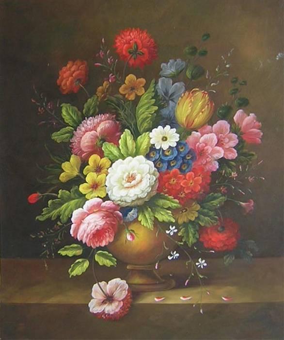 זר פרחים עשיר
