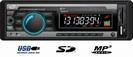 רדיו עם כניסת USB וכרטיסי זכרון ללא דיסק לרכב
