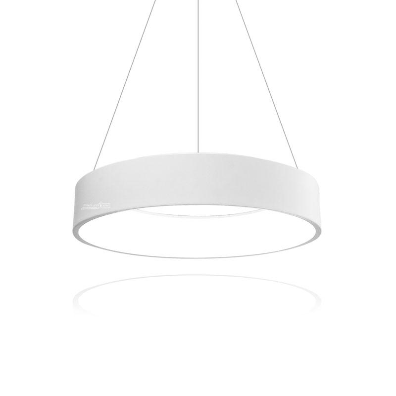 גוף תאורה בצורת חישוק תלוי לסלון