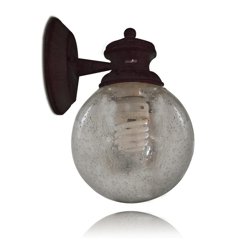 מנורת קיר עגולה
