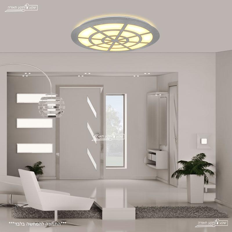 גוף תאורה מיוחד צמוד תקרה תאורת לד סדרת לגונה