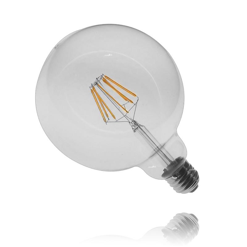 מנורת לד כדור שקוף 6W