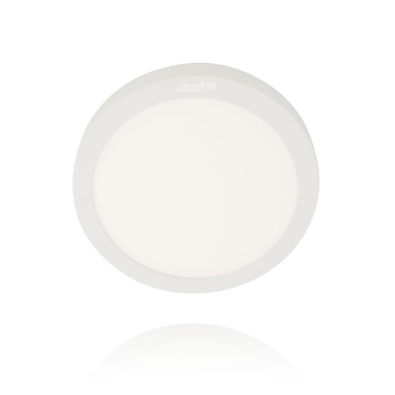 גוף תאורה שטוח, ענק, לבן, צמוד תקרה