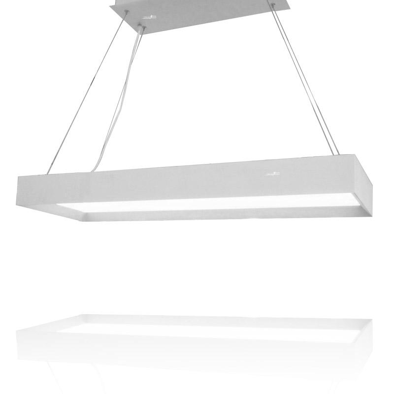 תאורה לסלון מלבן תלוי