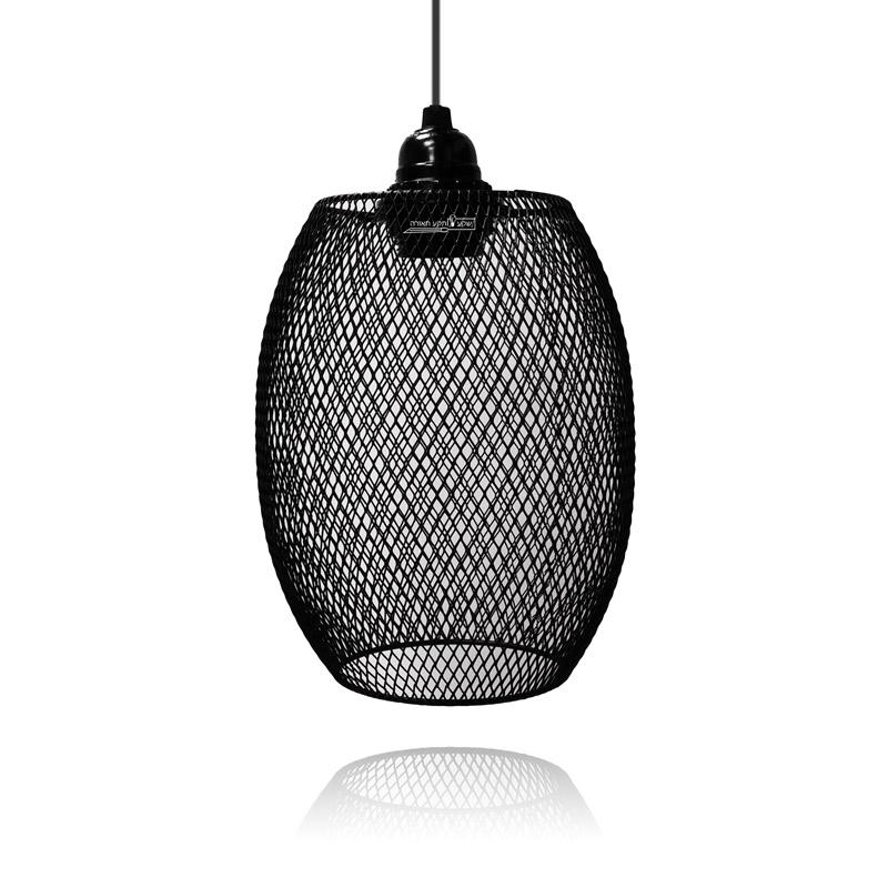 תאורה דקורטיבית מעוצבת ממתכת שחורה