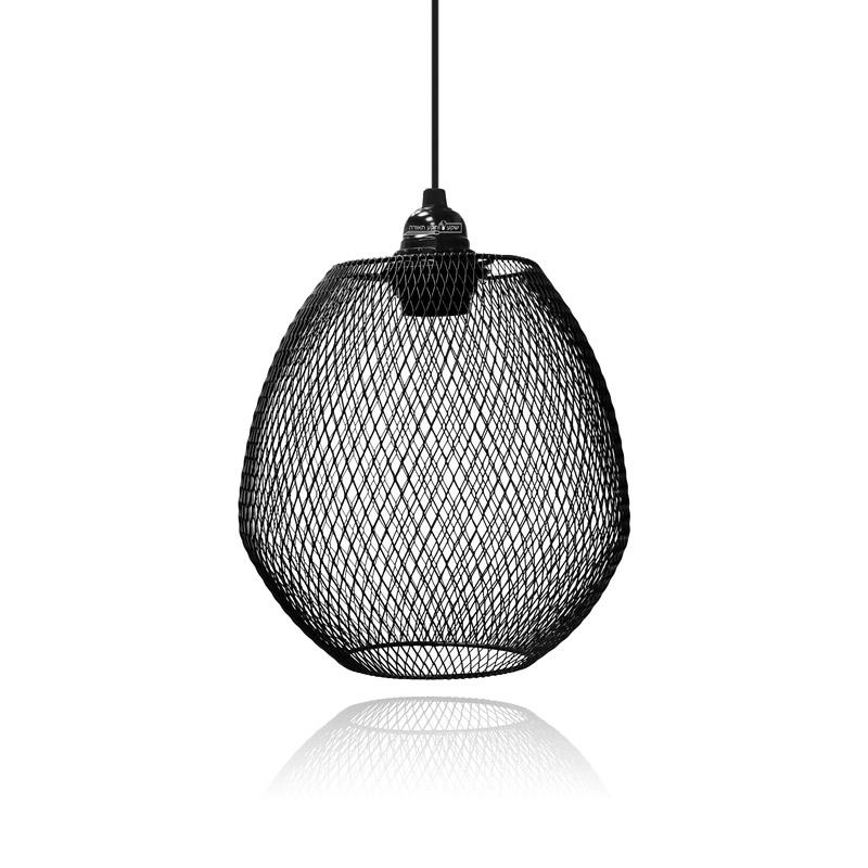 גוף תאורה מעוצב מרשת לתאורת פינת ישיבה