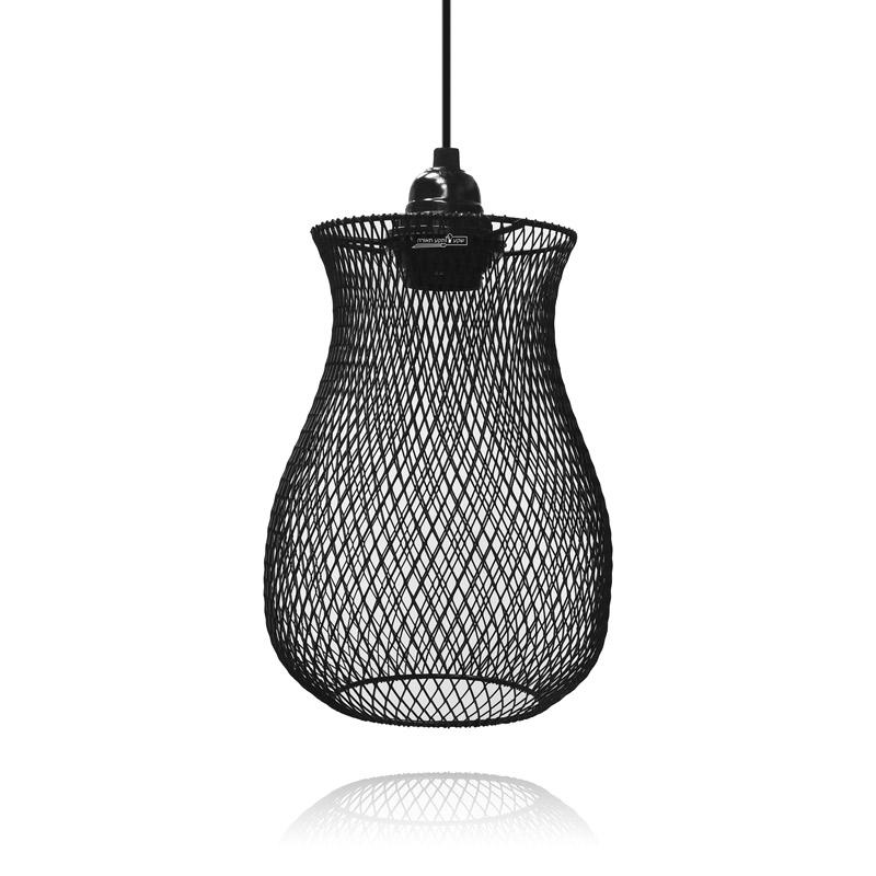 גוף תאורה כלוב אגרטל מעוצב לתאורת בתי קפה
