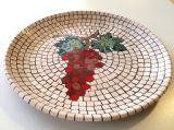 גפן - פסיפס אבן ---הוזמן ונמכר---- grapevine-Stone mosaic Ǿ45