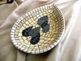 קערית - פסיפס אבן Small bowl - Stone mosaic  27X18