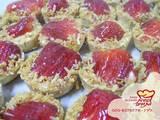 פאי אישי פטיסייר, תותים ושבבי קוקוס