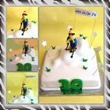עוגת גולש סקי