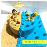 """עוגה בסגנון """" קיץ"""""""