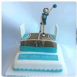 עוגת בר מצווה לשחקן כדור יד
