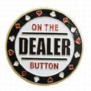 מגן קלפים זהוב Dealer