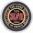 מגן קלפים  זהוב Texas Hold'Em