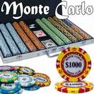 מזוודת פוקר 1000 MONTE CARLO POKER CLUB משקל 13.5 גרם