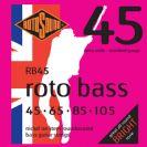 סט מיתרים 0.45 ניקל לגיטרה בס רוטוסונד ROTOSOUND RB45