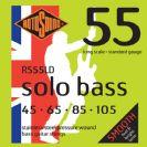 סט מיתרים לגיטרה בס  0.45 רוטוסונד  ROTOSOUND  SOLO BASS RS55LD