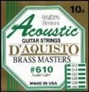 סט מיתרים לאקוסטית דיאקיסטו   D'AQUISTO   610