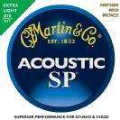 סט מיתרים  0.10  לאקוסטית מרטין   MARTIN  MSP3000