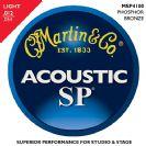 סט מיתרים  לאקוסטית 0.12 מרטין  MARTIN   MS4100