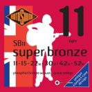 סט  מיתרים 0.11  לאקוסטית  רוטוסונד  ROTOSOUND  SUPER BRONZE  SB11
