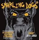 סט  מיתרים סנרלינג דוג  לאקוסטית 0.11   SNARLING DOGS