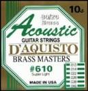 סט מיתרים   לאקוסטית דיאקיסטו  D'AQUISTO 620