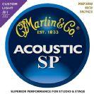 סט מיתרים 0.11    לאקוסטית מרטין   MARTIN  MSP3050