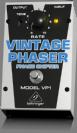 פדל ברינגר  BEHRINGER  VINTAGE PHASER VP1