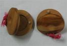 זוג קסטנייטות מעץ  בסטלר BESTLER  WB-1