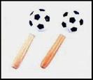 זוג מרקס  פאור ביט  כדורגל קטן עם ידית עץ POWER BEAT PM-51