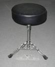כסא לתופים מסיבי מושב עבה פאור ביט  POWER BEAT TR-753