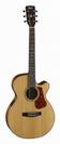 גיטרה אקוסטית קורט  מוגברת CORT L100F NS CUT AWAY